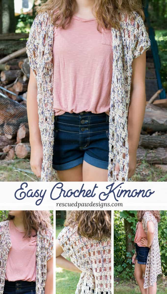 Easy Crochet Kimono
