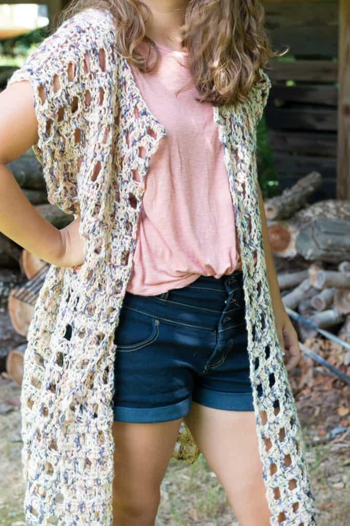 easy crochet kimono pattern free