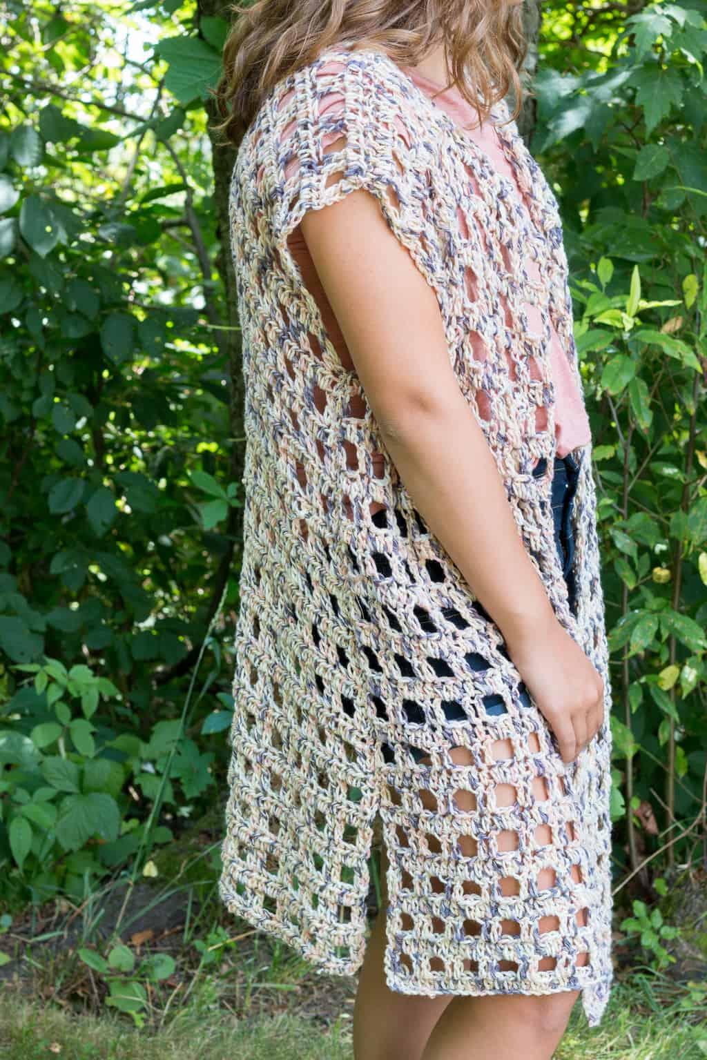 Mara Crochet Kimono Pattern ⋆ Rescued Paw Designs Crochet