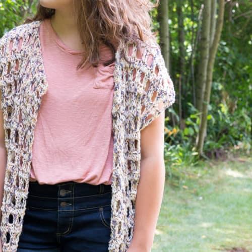 Free Mara Crochet Kimono Pattern