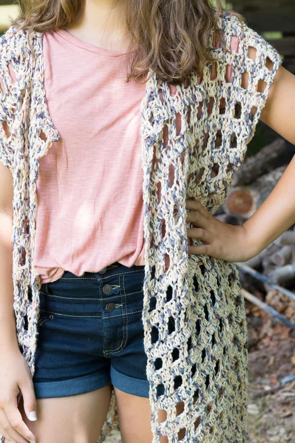 Crochet cardigan pattern
