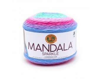 Mandala Sparkle Lion Brand Yarn