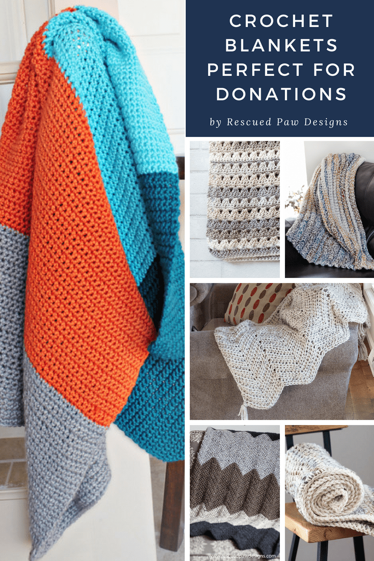 Crochet Blanket Patterns for Donations to Homeless Shelters