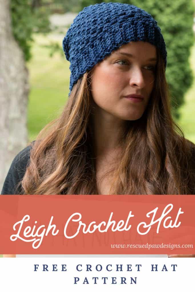 Leigh Crochet Hat Pattern