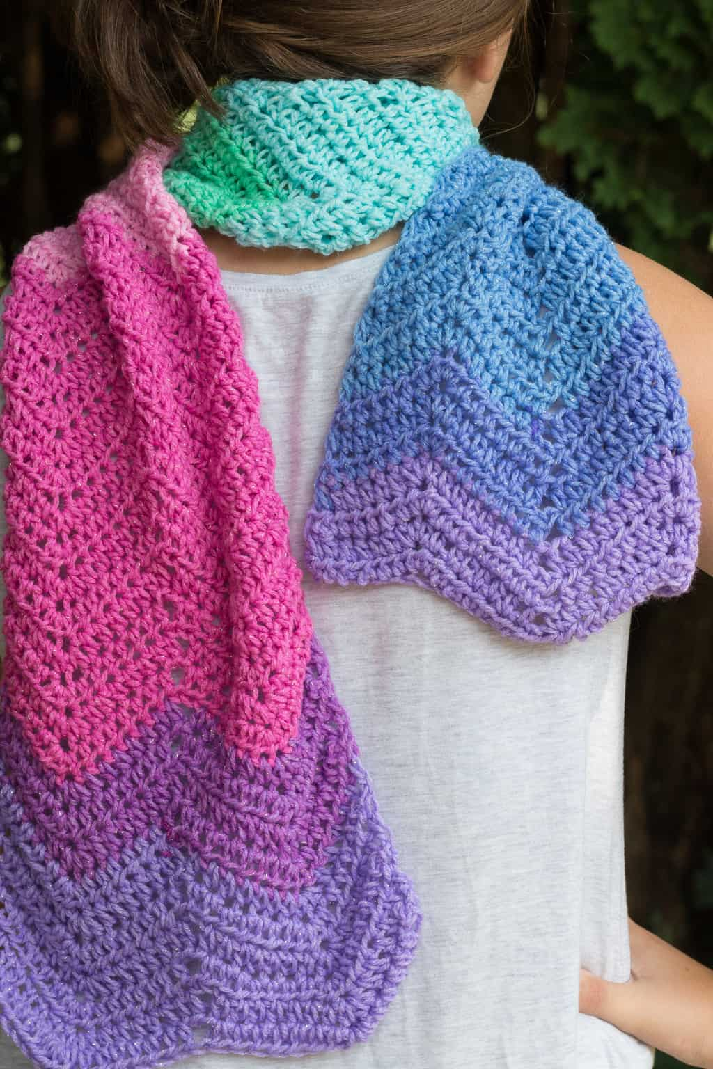 Unicorn Crochet Scarf Pattern