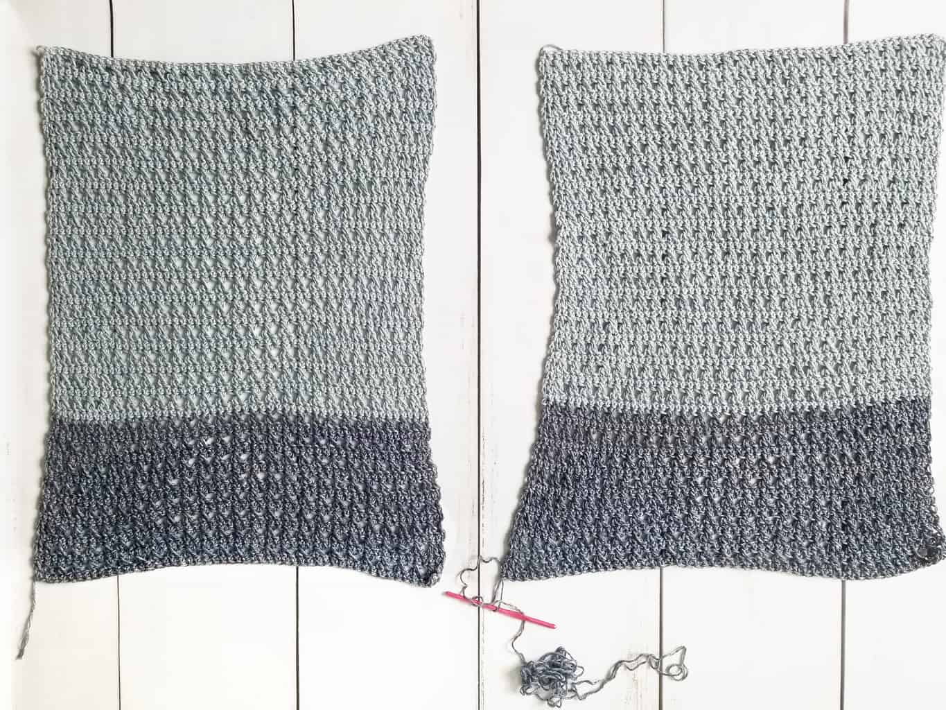 Joining Crochet Panels