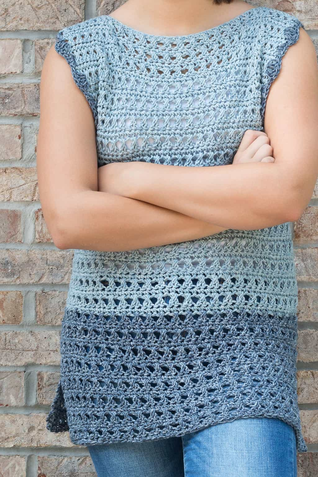 Olivia Crochet Sweater Pattern