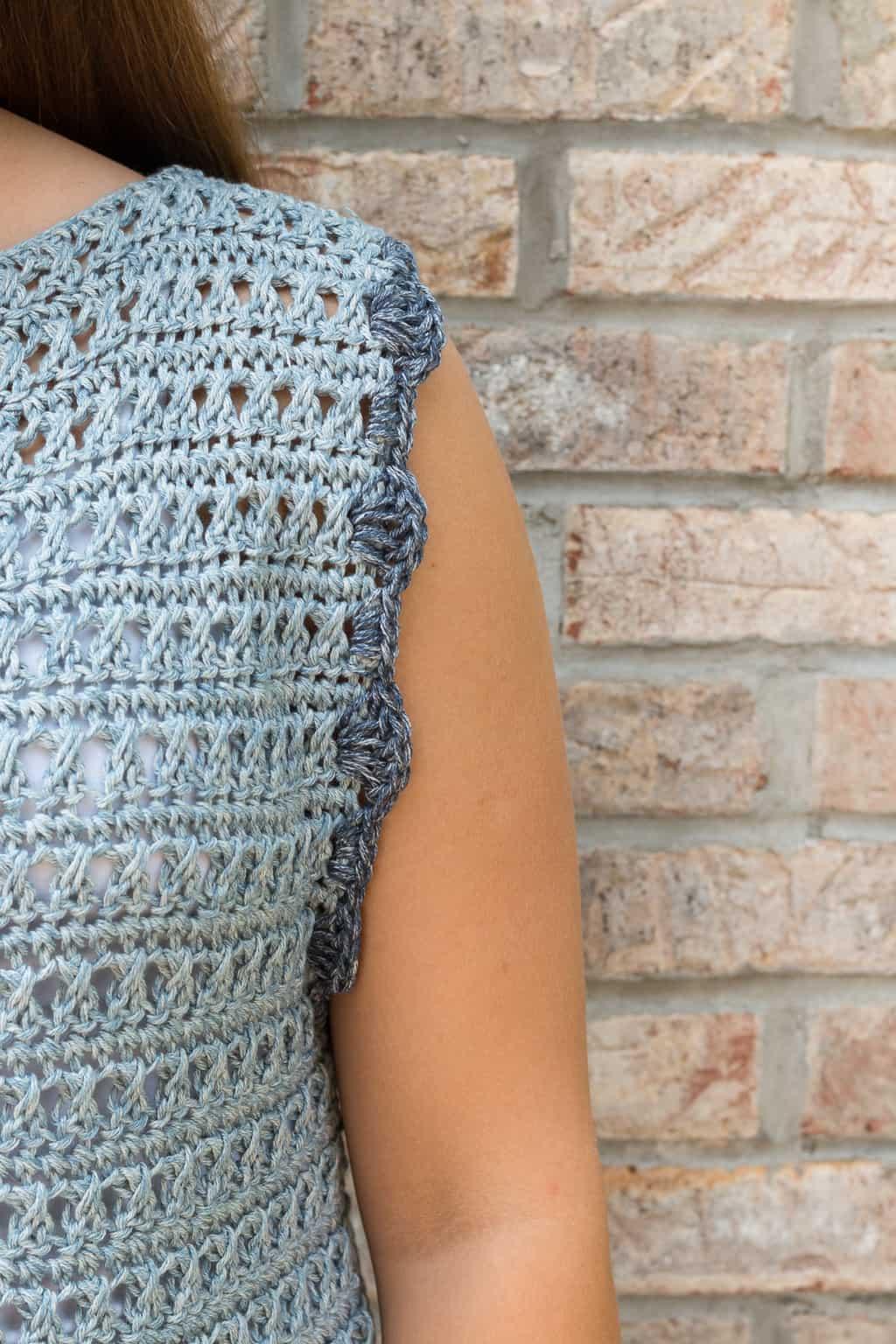 Crochet Sweater Top