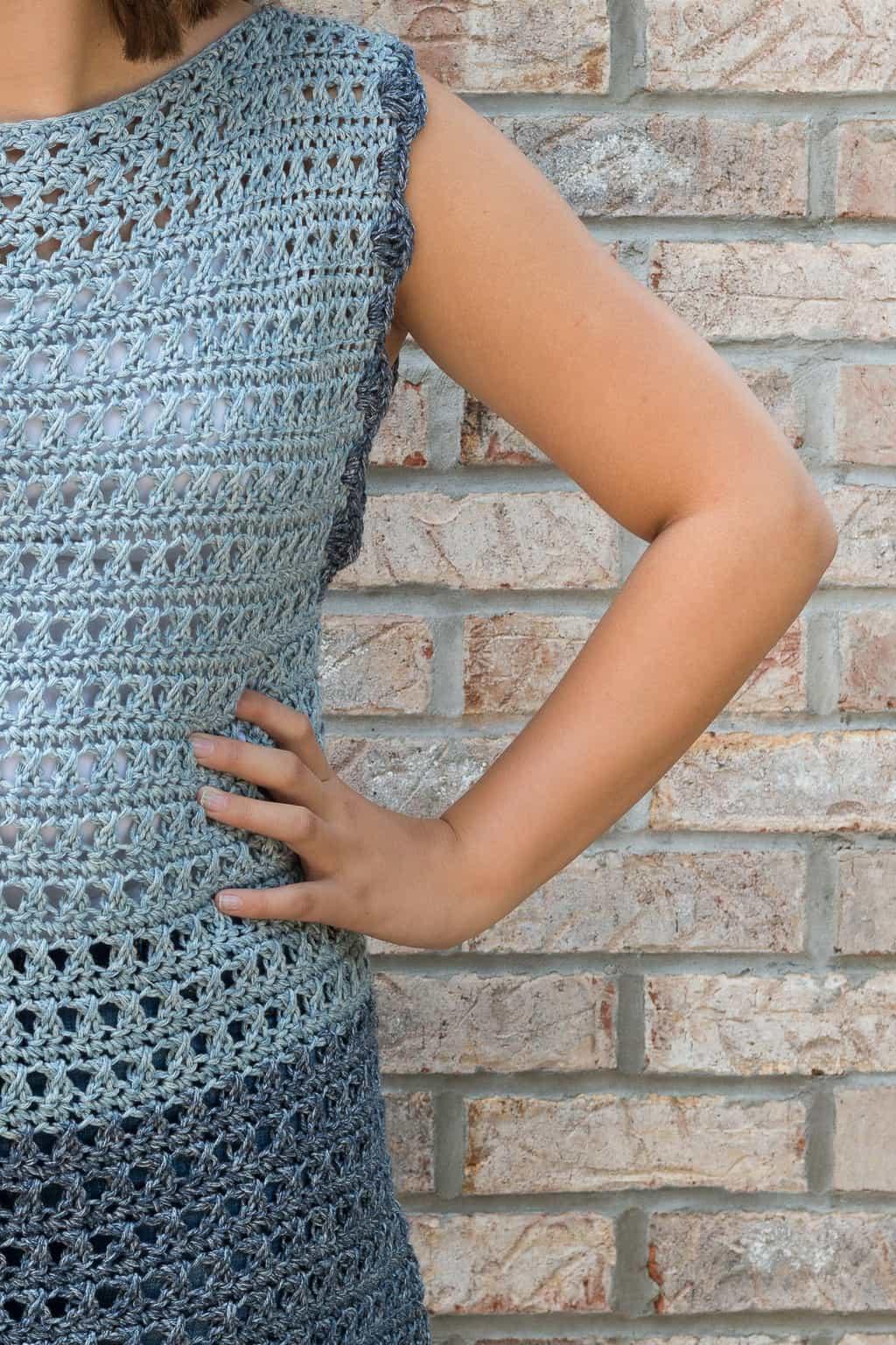 Crochet Top Pattern - The Olivia