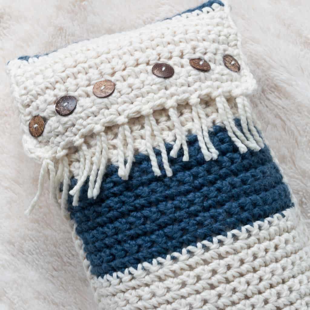 Crochet Pillow Pattern for Beginners