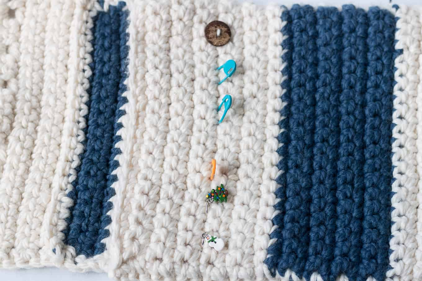 How to Add Buttons to a Crochet Pillow