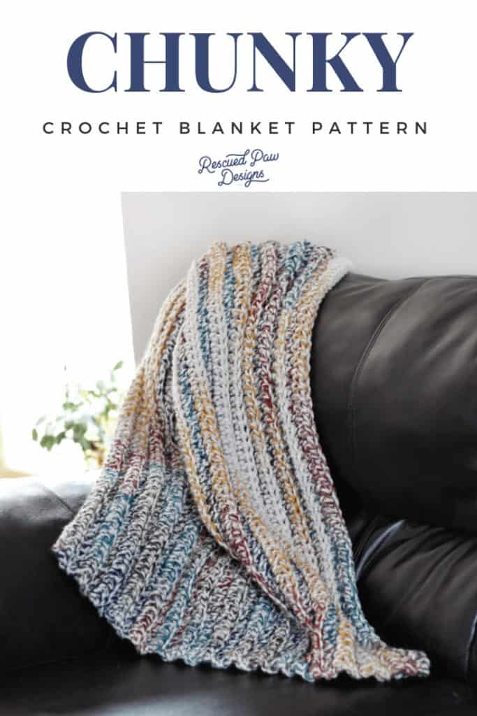Double Crochet Beginner Blanket