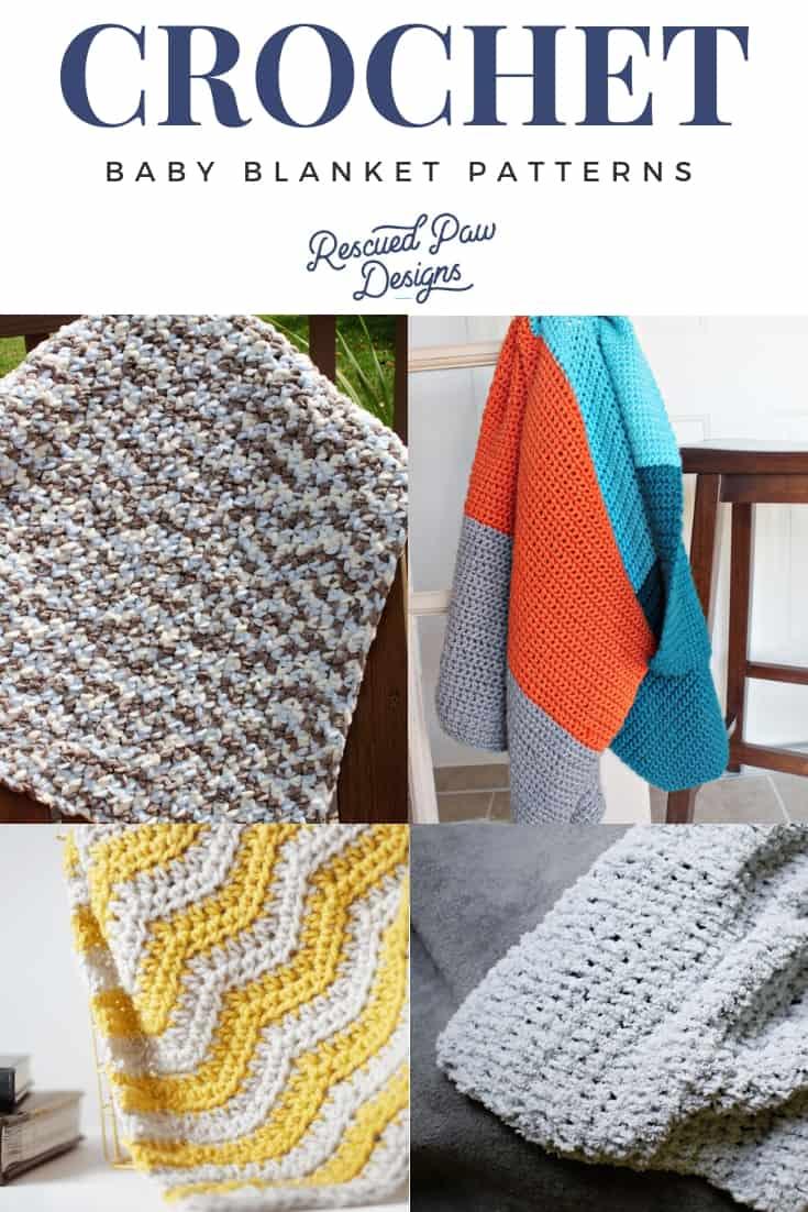 Free Easy Crochet Baby blanket patterns