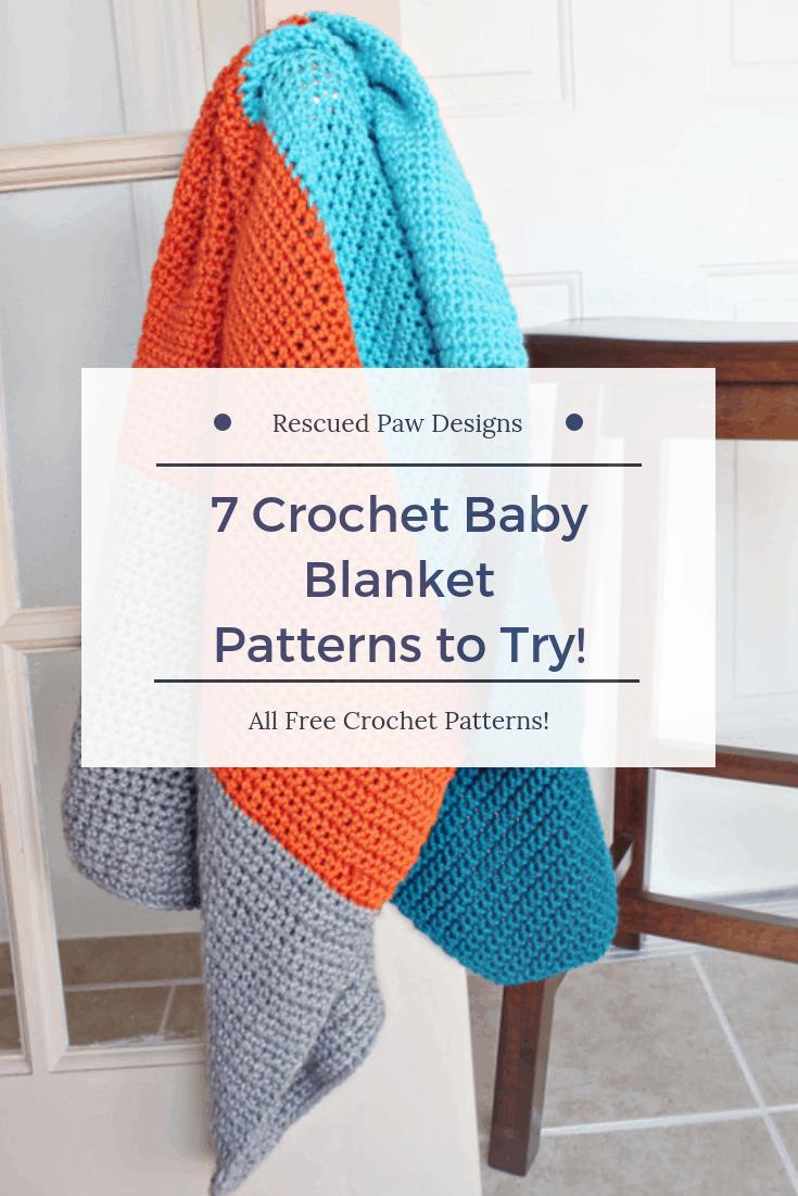 Baby Blanket Crochet Patterns for Beginner Crocheters