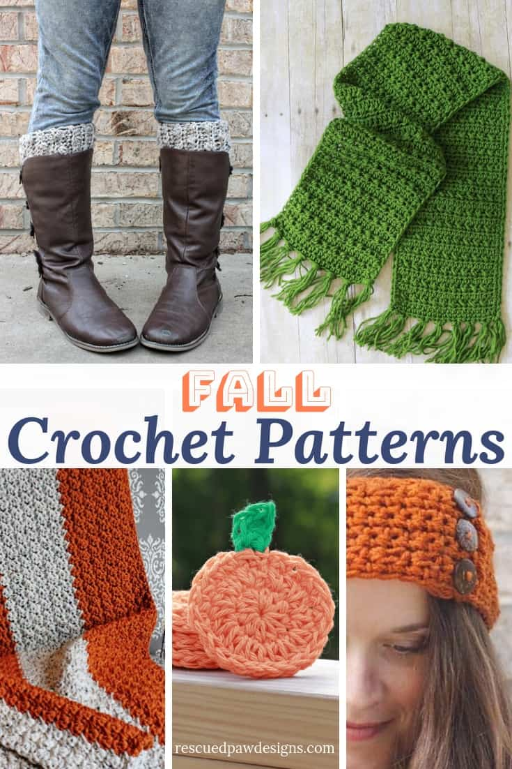 9 Free Fall Crochet Patterns - Patterns for Fall to Crochet