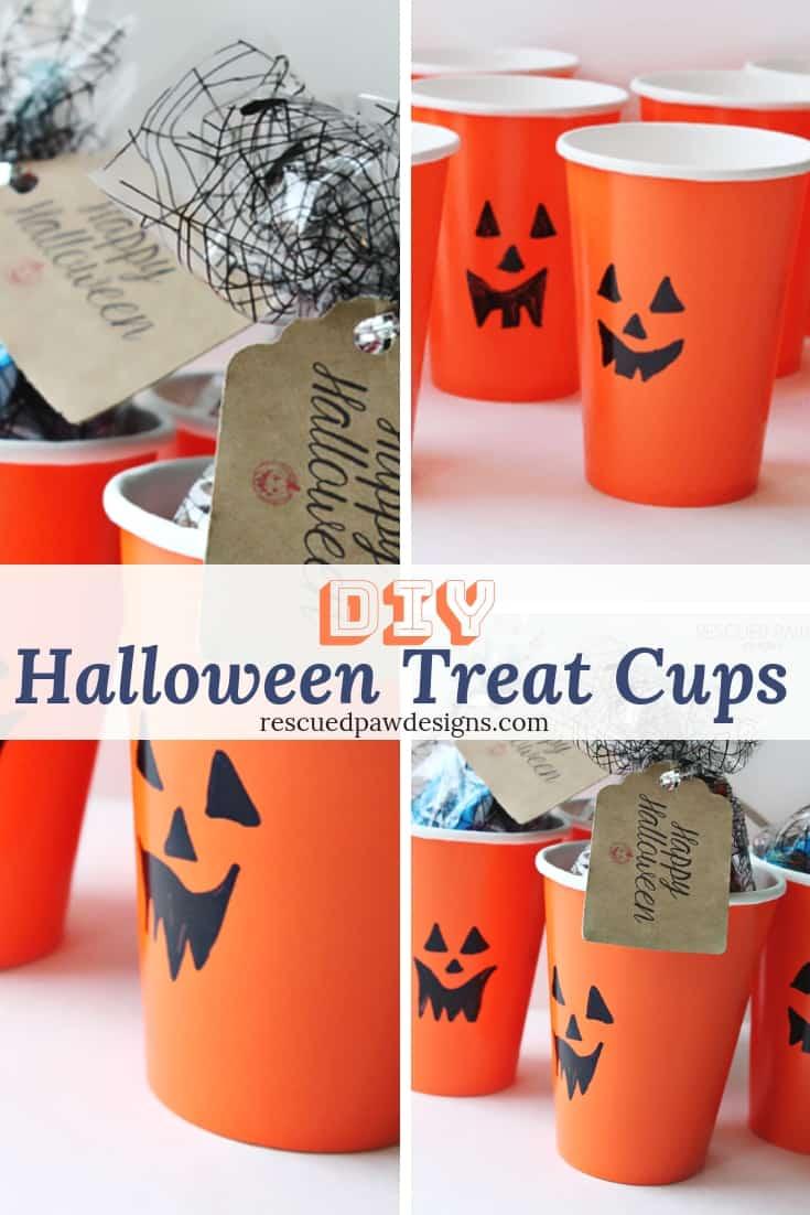 DIY Halloween Treat Cups