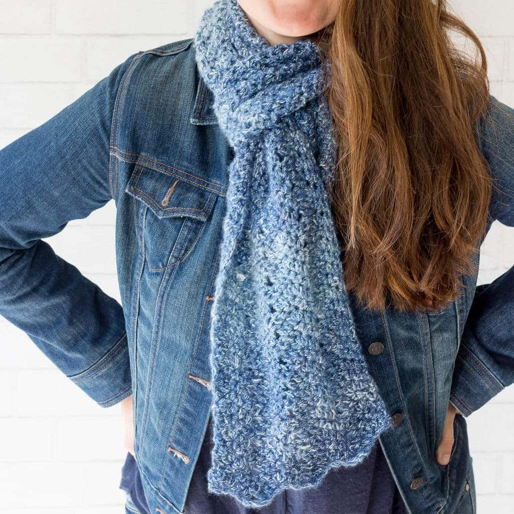 Luna Chevron Scarf Crochet Pattern Chevron Scarf Crochet Pattern