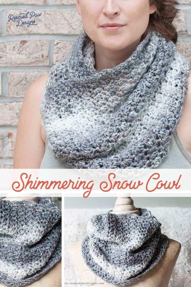 Beginner Crochet Cowl Pattern