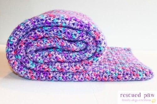 Single Crochet Baby Blanket Pattern