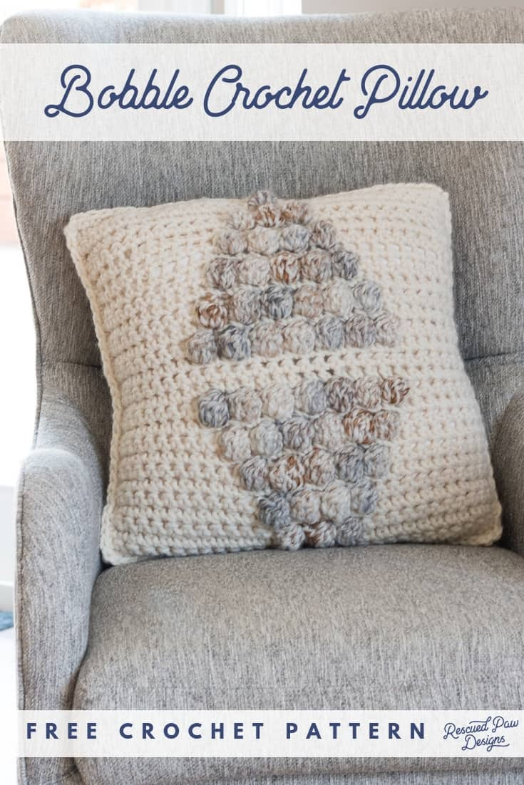 Bobble Crochet Pillow Pattern