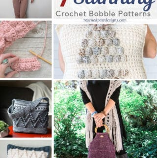 bobble stitch crochet patterns