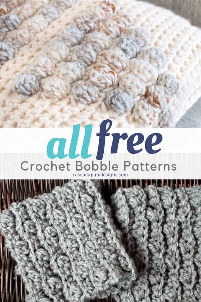 Crochet Bobble Stitch Patterns