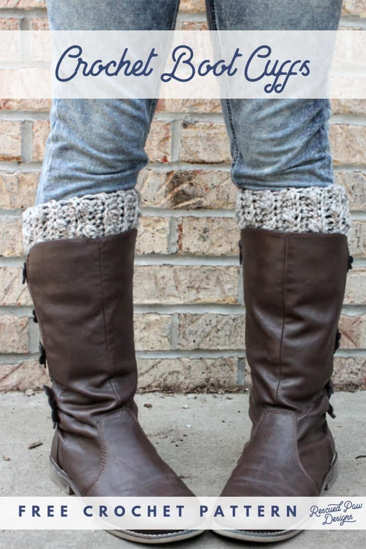 Free Crochet Boot Cuff Pattern How To Crochet Boot Cuffs