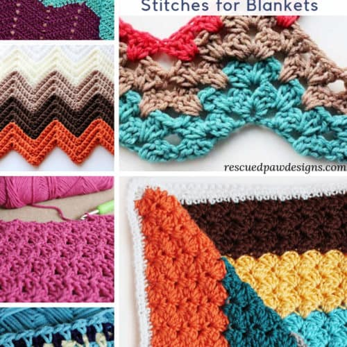 Basic Crochet Stitches To Learn 19 Different Crochet Stitches