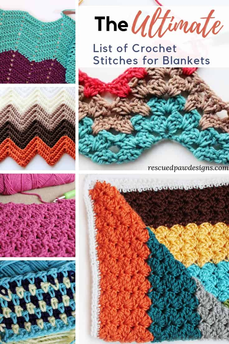 Cool Crochet Stitches for Blankets