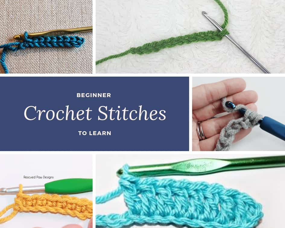 Beginner Crochet Stitches