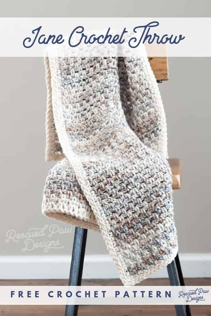 Quick Crochet Blanket for Beginners