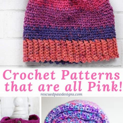 7 Pink Crochet Patterns to Make