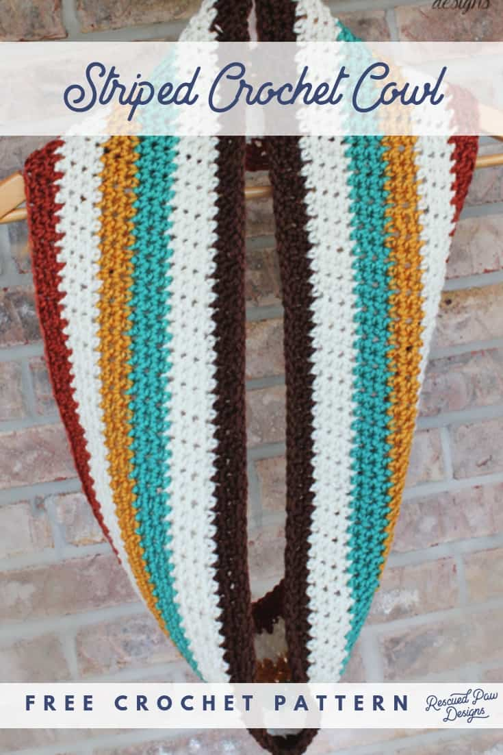 striped scarf crochet pattern