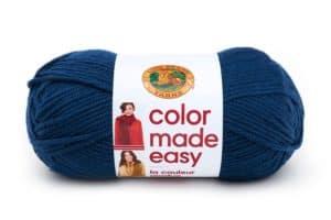 Lion Brand Color Made Easy Huckleberry