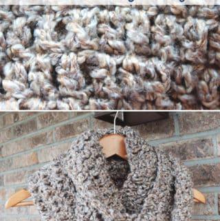 Simple Chunky Crochet Scarf