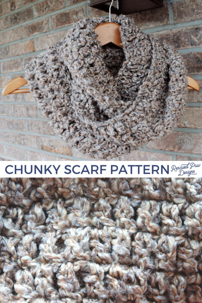 Chunky Scarf Pattern to Crochet