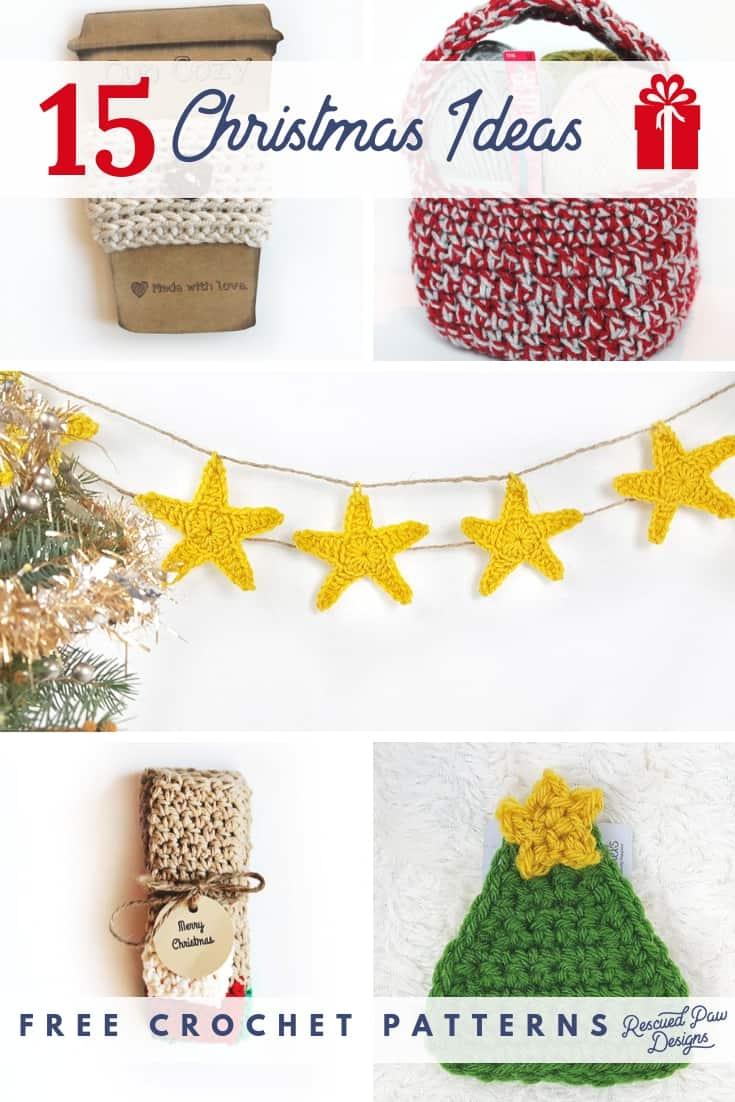 Crochet Christmas Patterns For Gifts