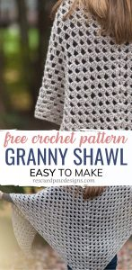 quick and easy crochet shawl pattern