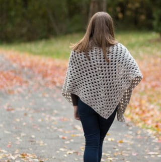Granny Shawl Crochet Pattern for Free