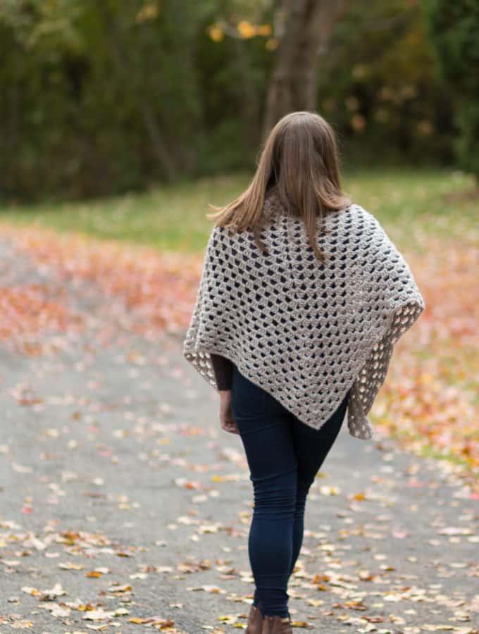 Granny Shawl Crochet Pattern for Free