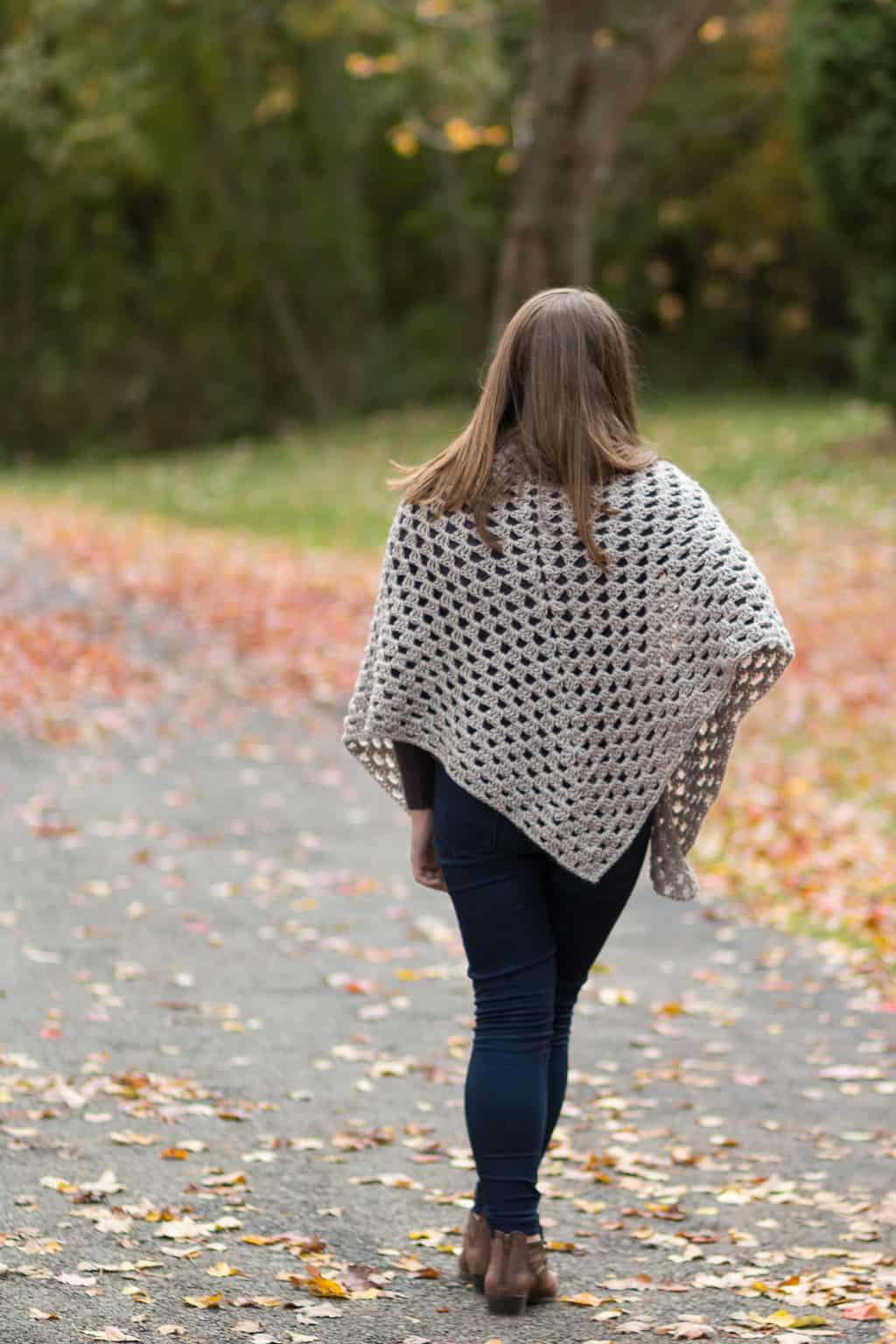 Granny Shawl Crochet Pattern