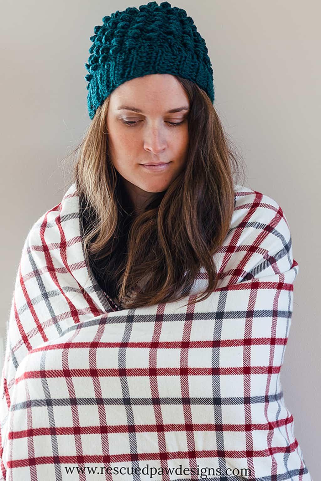 Puff Crochet Beanie Hat Pattern