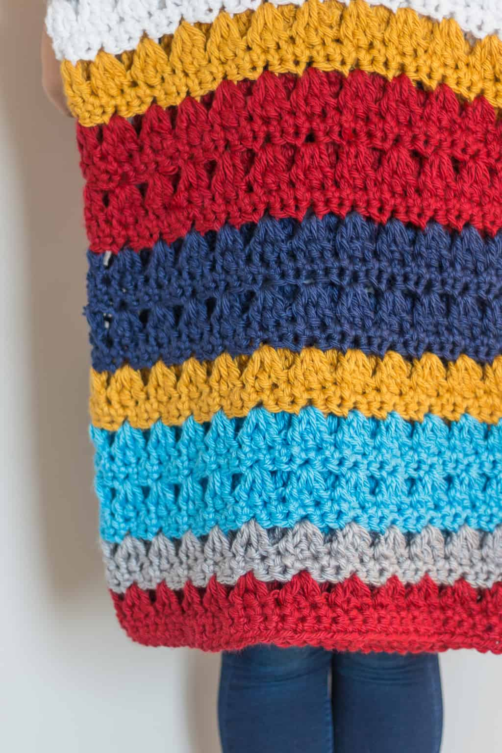 Willow Crochet Throw Pattern