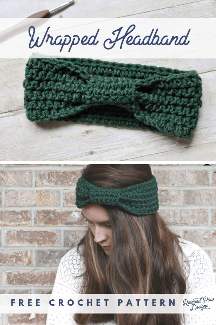 Crochet Pattern for a Headband