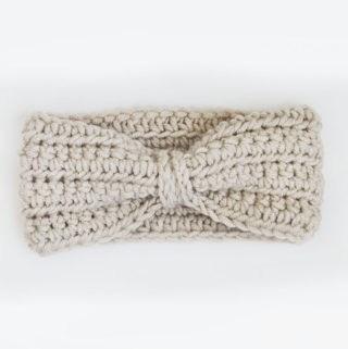Chained Ear Warmer Headband Crochet Pattern