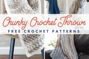 Bulky Crochet Blankets