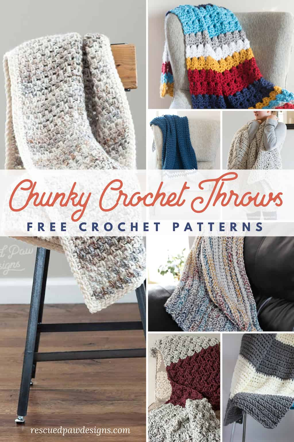 Chunky Crochet Throw Blanket Patterns