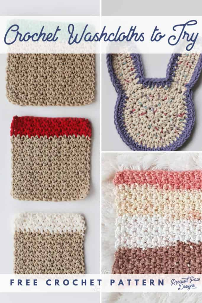 Crochet Washcloth Patterns for Last Minute Gifts