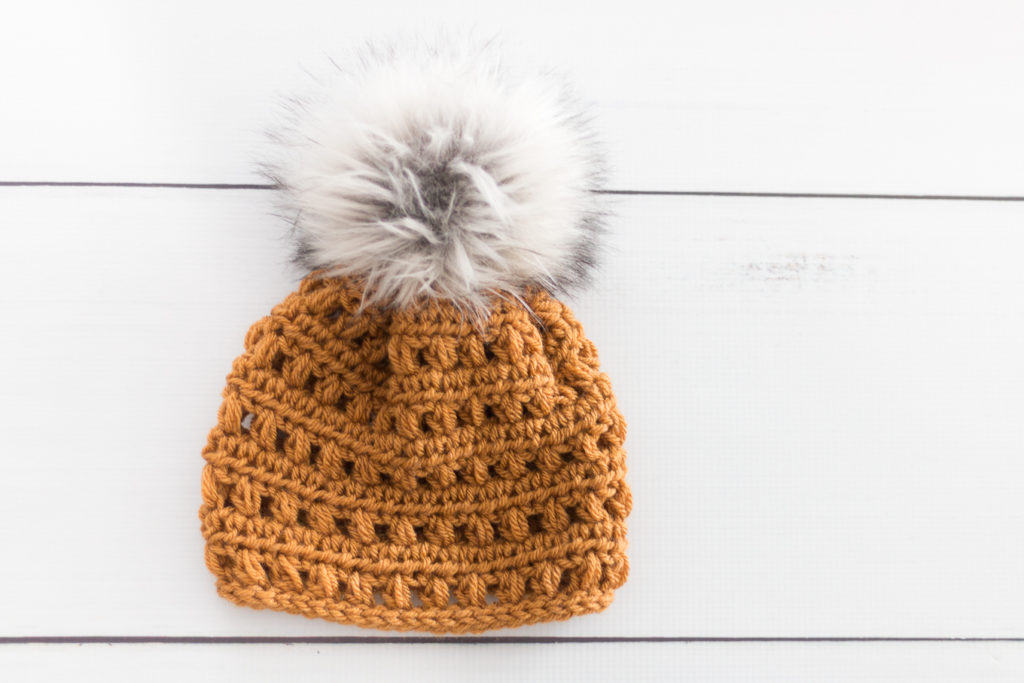 Furry Pom Pom Crochet Pattern
