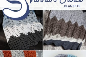Crochet Blankets using Vanna's Choice Yarn